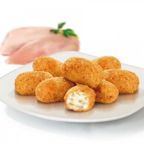 Croquetas de pollo tapeo 1kg Prielá