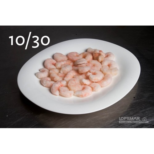 Gamba pelada 10/30 1kg E.P.