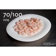Gamba pelada 70/100 250g E.P.