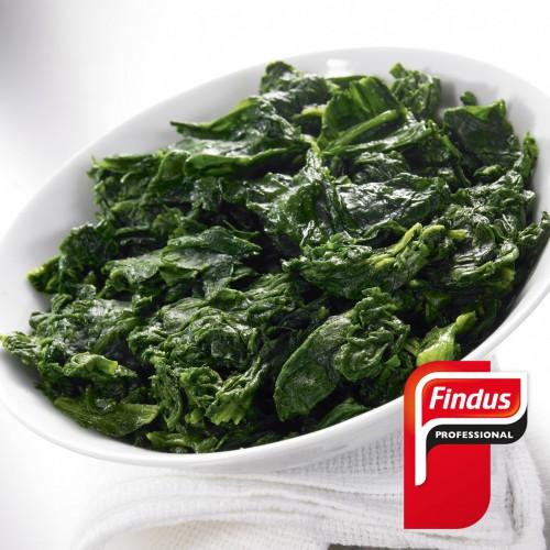 Espinacas al ajillo 1kg Findus